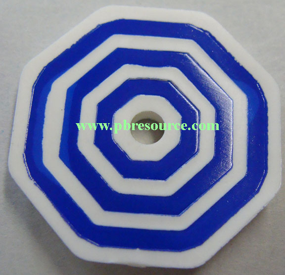 WW2 TARGET RED WHITE BLUE YELLOW PRINTED STICKER CHOICE OF SIZES